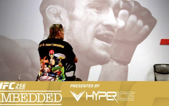 UFC 256 Embedded: Vlog Series – Episode 5