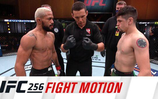 UFC 256: Fight Motion