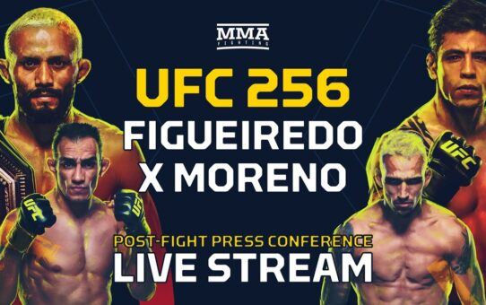 UFC 256 Post-Fight Press Conference Live Stream – MMA Fighting