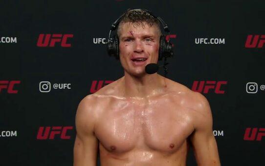 UFC Vegas 17: Stephen Thompson Post-fight Interview