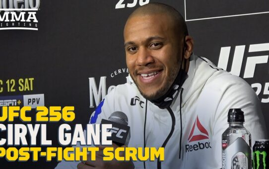 UFC 256: Ciryl Gane Says KO Punch Against Junior Dos Santos Was Legal – MMA Fighting