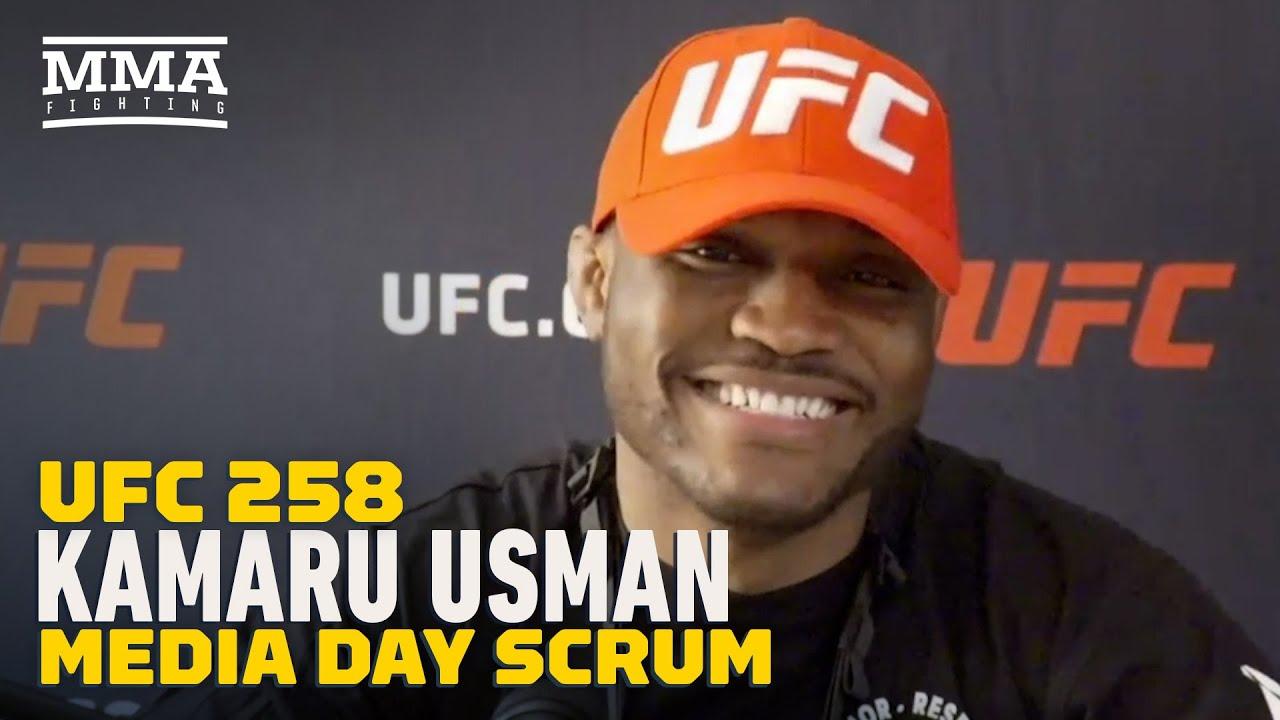 UFC 258: Kamaru Usman: Gilbert Burns Is My Toughest Test To Date - MMA Fighting