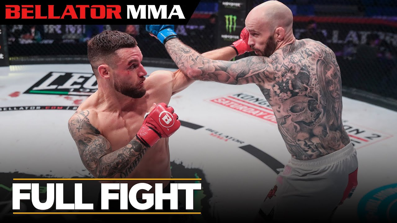 Full Fight | Charlie Leary vs. Kiefer Crosbie - Bellator ES 9