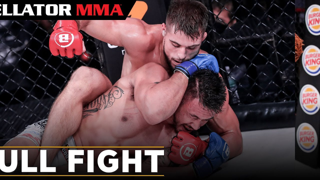 Full Fight   Dalton Rosta vs. Ty Gwerder   Bellator 250