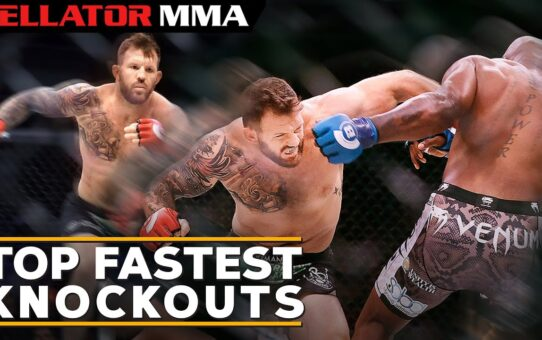 Top Fastest Knockouts | Bellator MMA