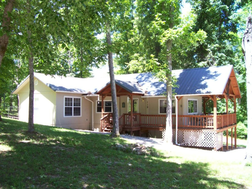 The Ozark Retreat with wraparound deck