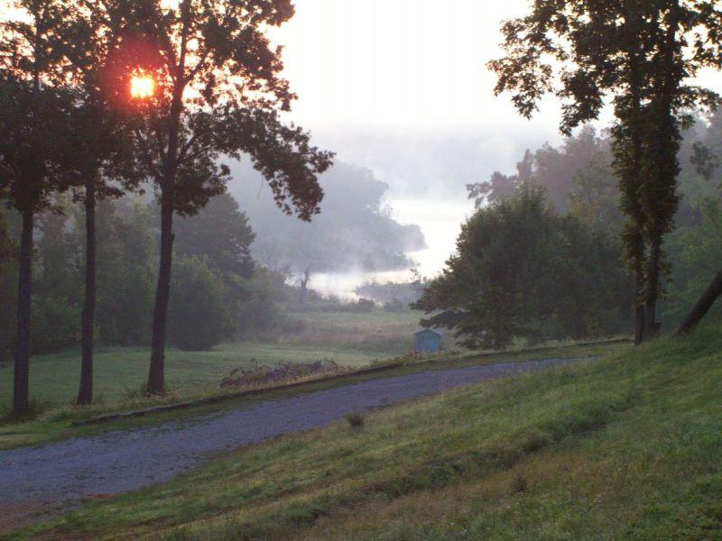 Sunrise from the Ozark retreat