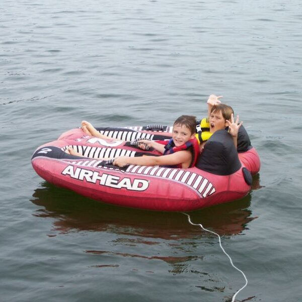 Tubing and watersports on the lake