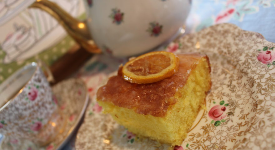Church Cookbook Classics:  Ice Pick Lemon Cake