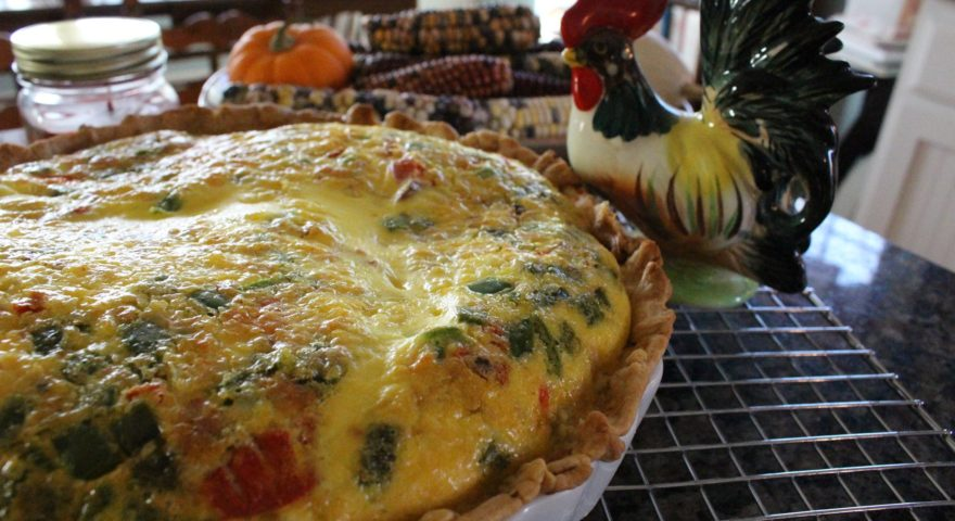 Fresh Eggs and a Five Hundred Dollar Quiche