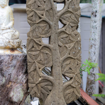 Body tree of life stone statue Indonesia