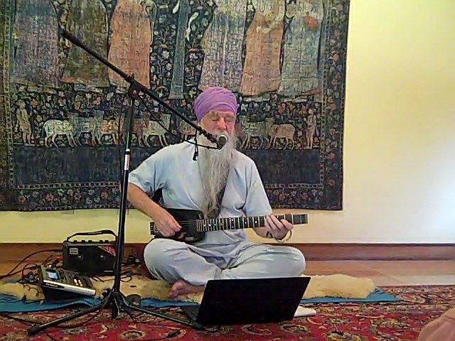 Sikh Sacred Kirtan from a 500 year Mystical Tradition with Antion Vikram Singh