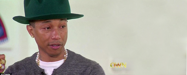 Why I Want to Be Coached by Pharrell