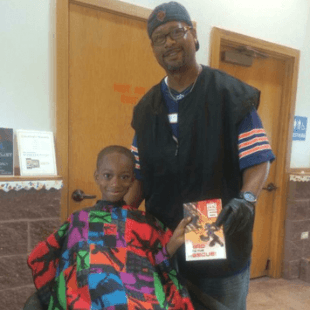 Courtney Holmes, The Storybook Barber