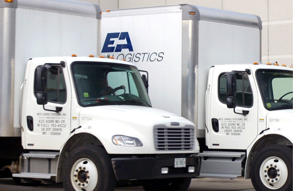 EA Logistics Trucks