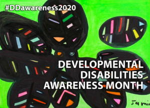 Developmental Disabilities Awareness Month logo