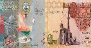 اسعار التحويل من الكويت لمصر اليوم تحويلات العملات بالكويت الكويتية البحرينية للصرافة