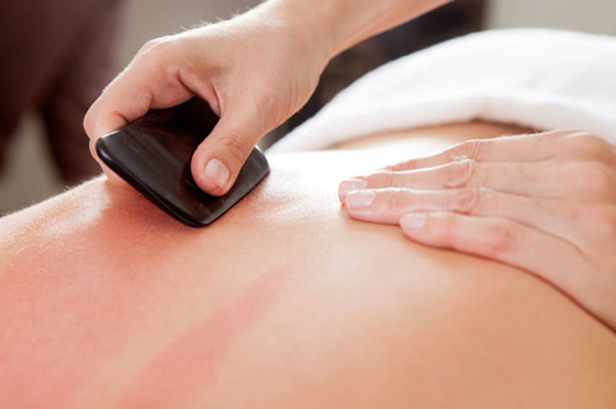Gua Sha for pain relief