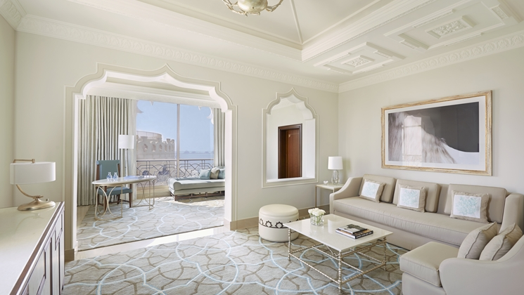 King One Bedroom Suite with Sea View