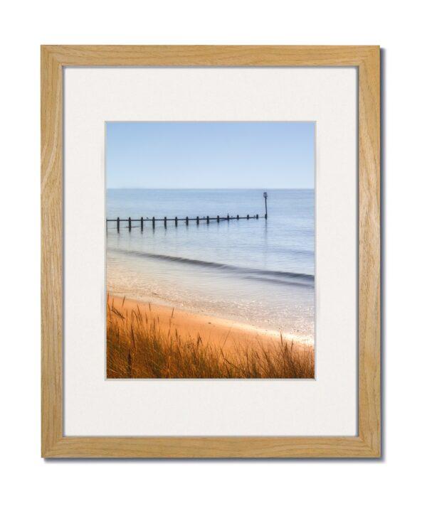 Coastal Wood Natural Frame