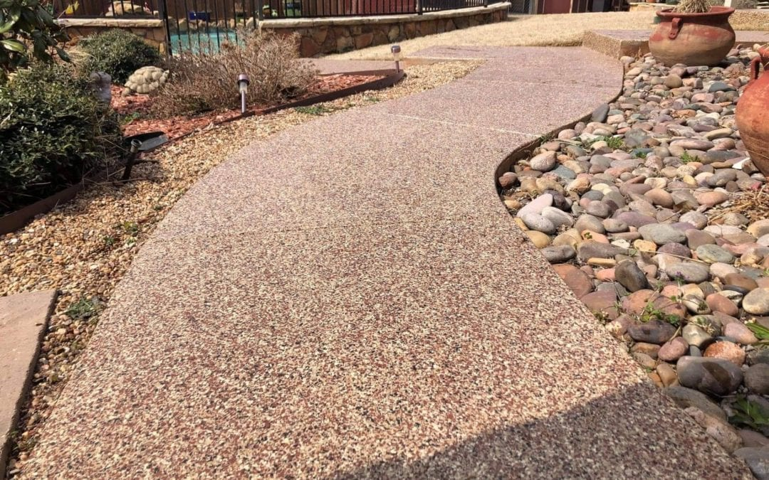 Complete Backyard – Outdoor Patio, Sidewalk & Pool Deck