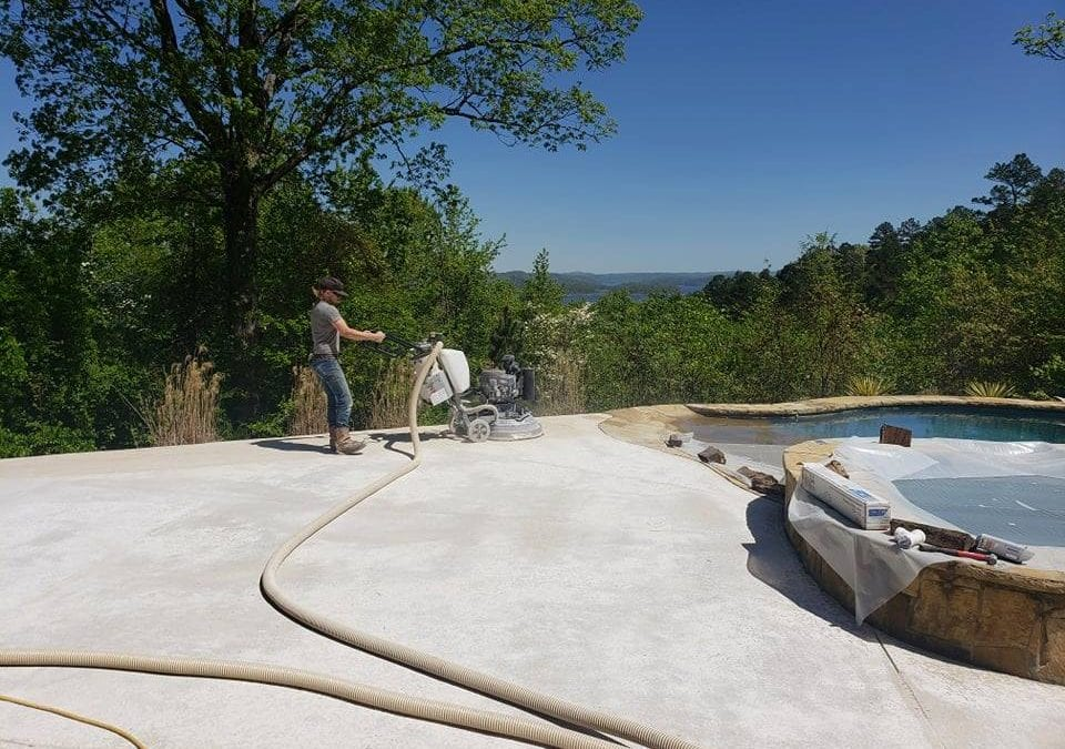 Pool Deck Renovation – Replacing a Chipping Kool Deck