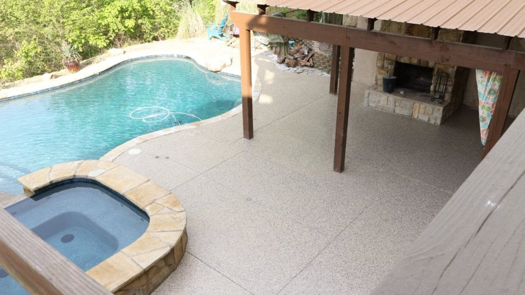 Pool Deck Renovation Replacing A