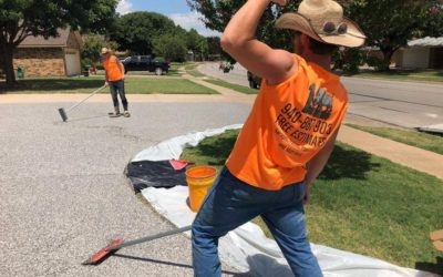 Curved Driveway Installation – Wichita Falls, TX