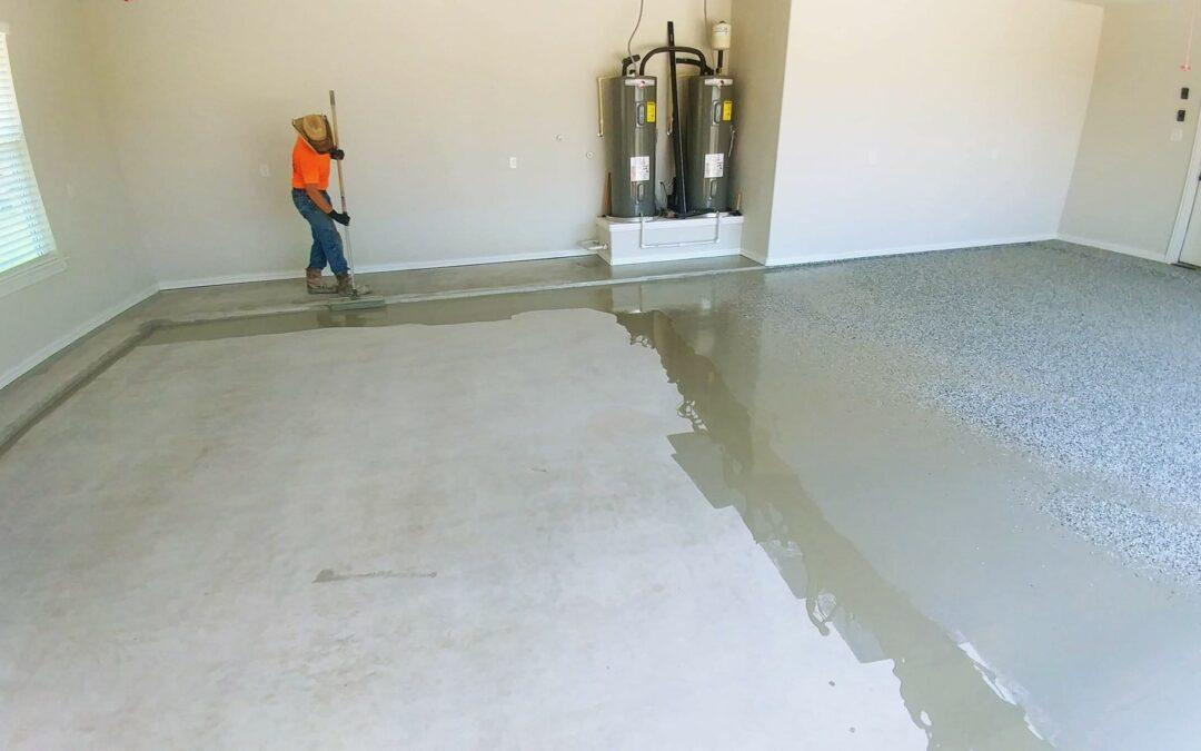 Residential Garage Remodel – Crack Repair & Installation