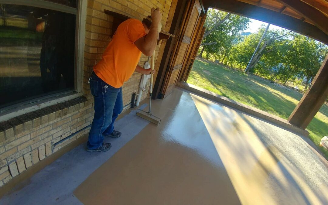 Outdoor Patio Installation – Graham, TX