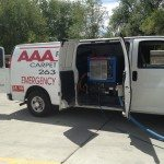 AAA Restoration Van