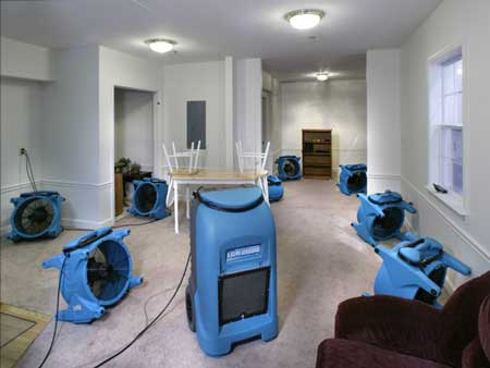 flood damage restoration company