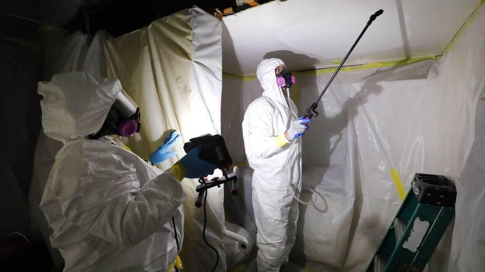 Asbestos Abatement AAA Restoration Utah