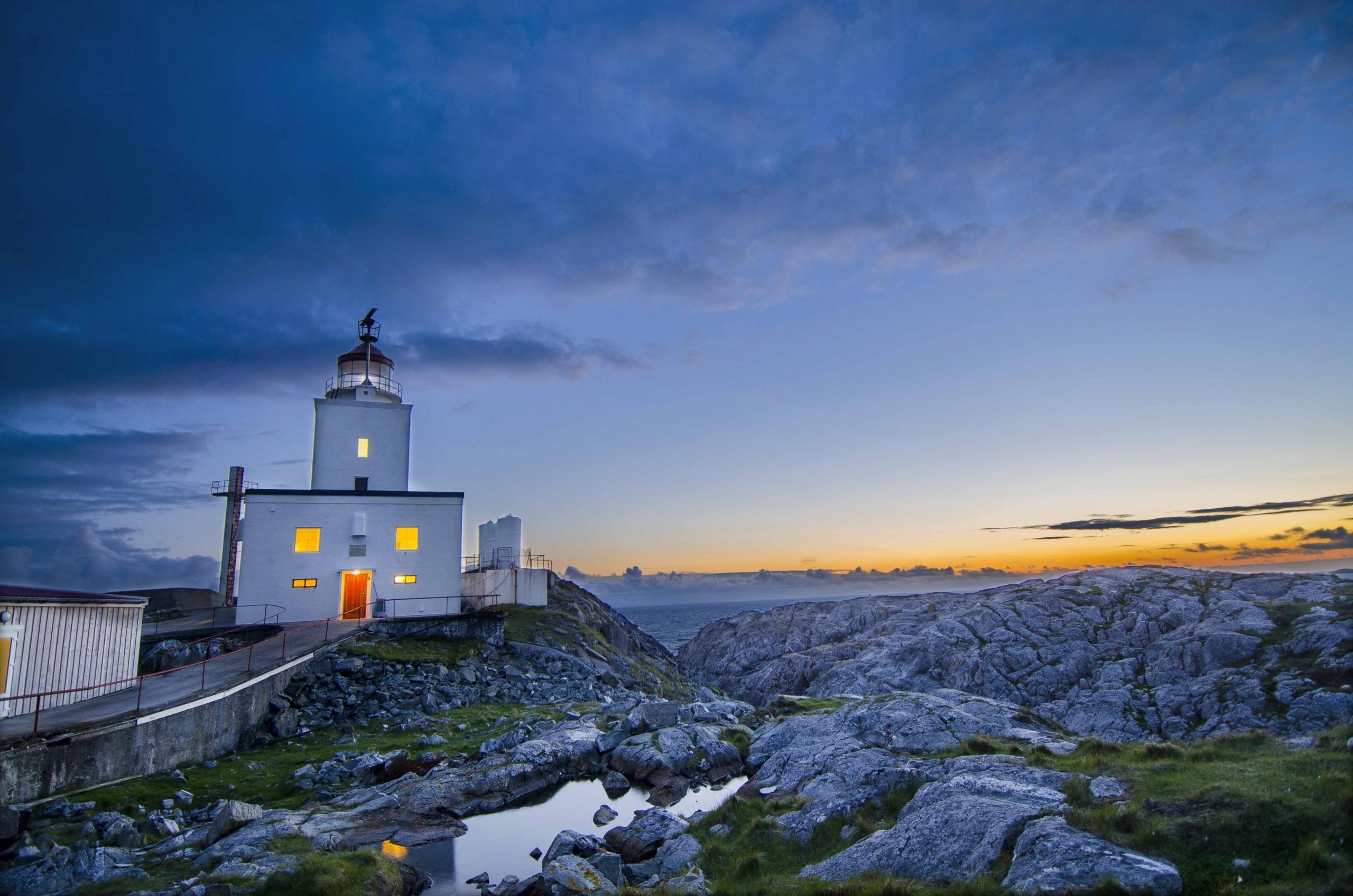 Bergen, Norway Lighthouse