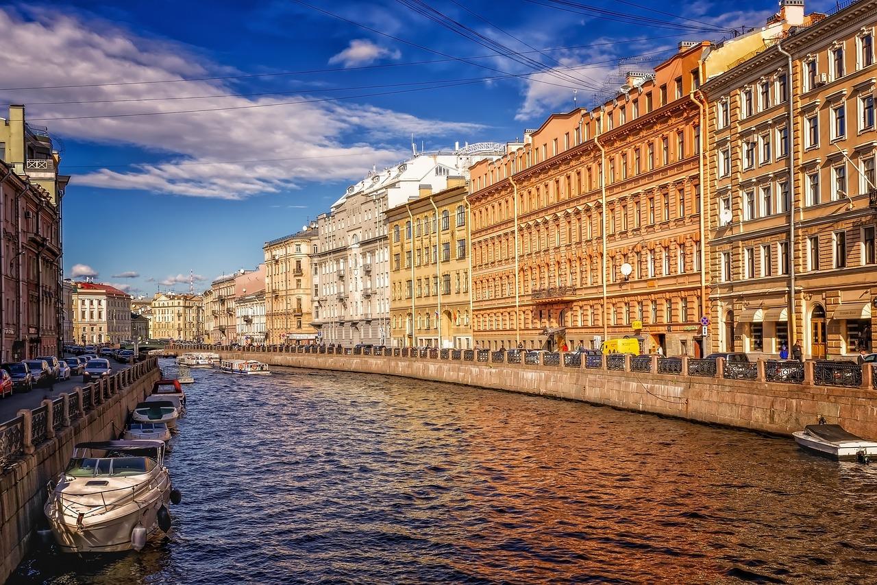 St. Petersburg cityscape