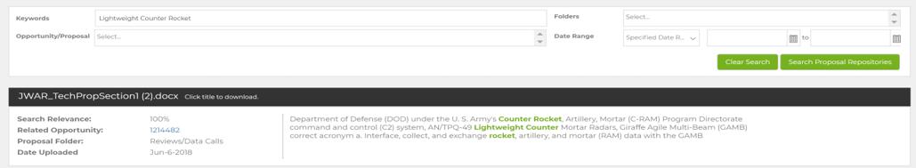 Search DFARS/NIST SP 800-171 Compliant Document Storage