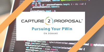 Pursuing Your PWin