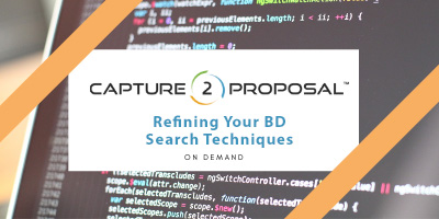 Refining Your BD Search Techniques