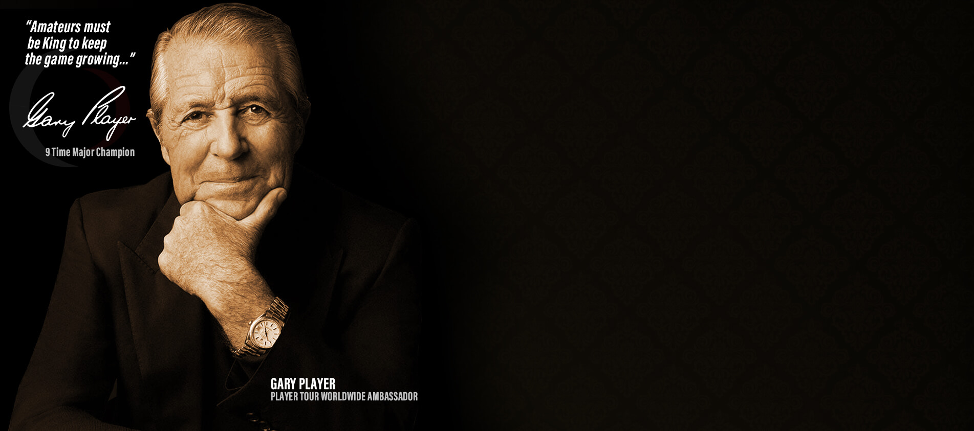 Gary Player Be A Player