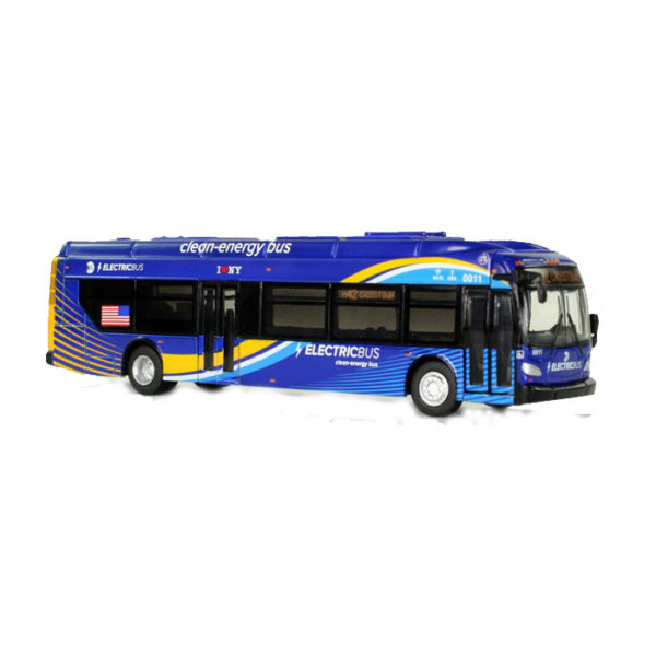 "1:87 New Flyer xcelsiorCHARGE Transit Bus: New York City MTA ""Crosstown"" (87-0103)"