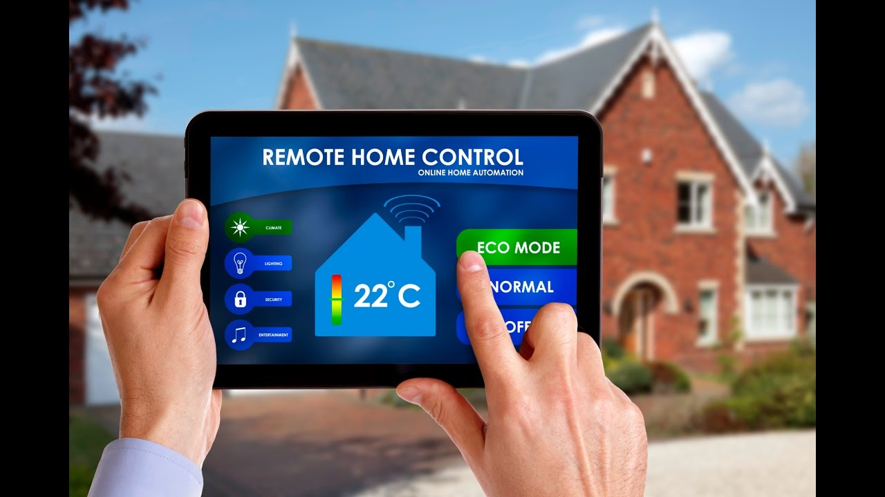 Remote home automation