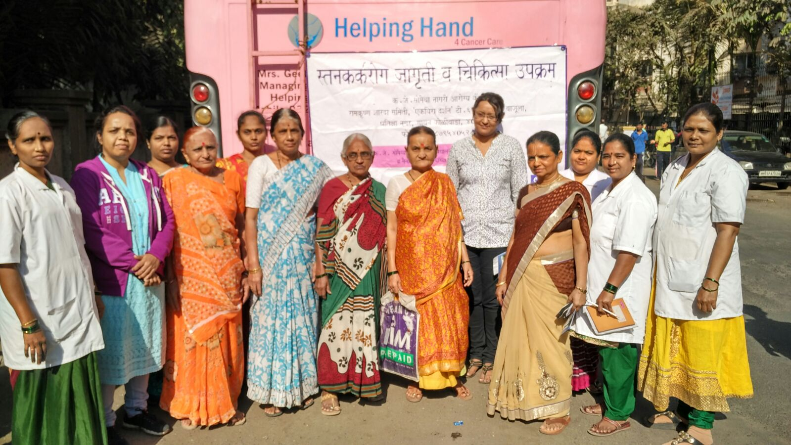 Mammography camp was held in Pratiksha Nagar on January 20, 2016 in Sion Koliwada.