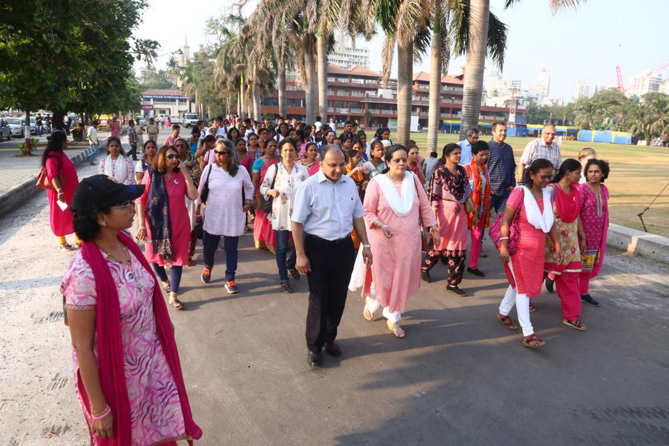 India Cancer Society & Maina Foundation Mumbai Walk