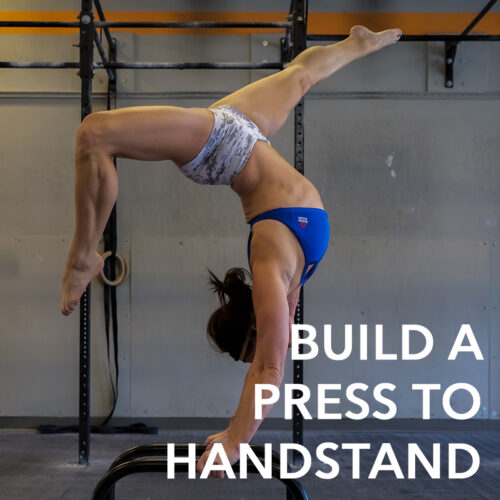 Building A Press To Handstand