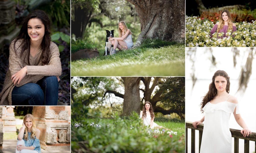 Senior Sessions at Rip Van Winkle Gardens