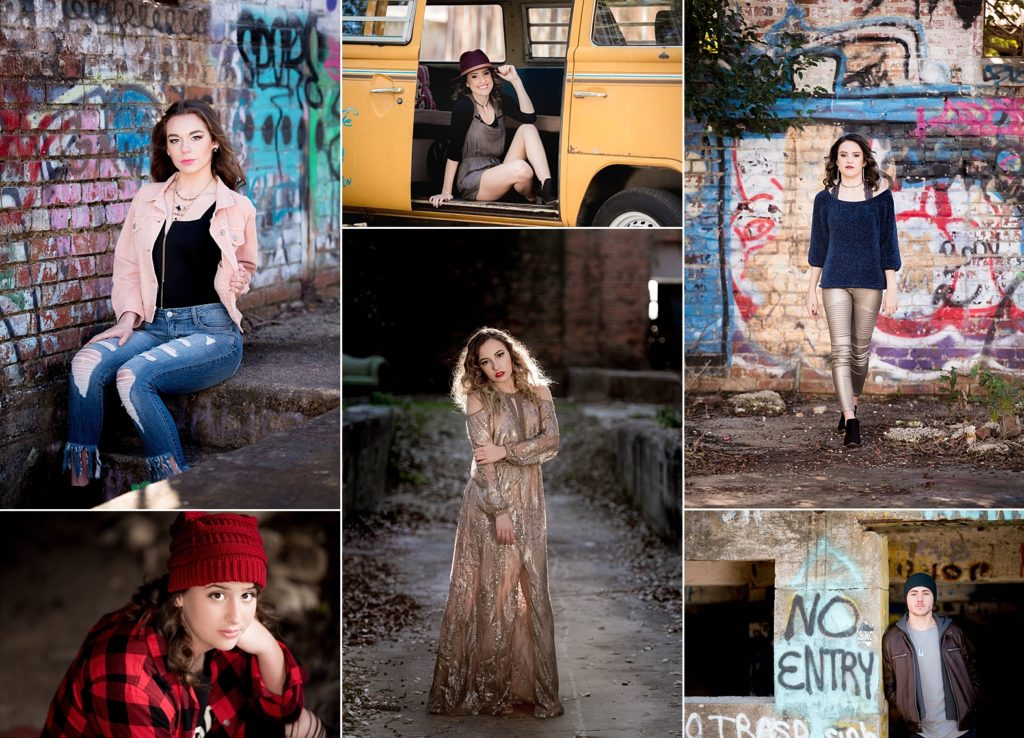 Senior Sessions at The Mill in New Iberia