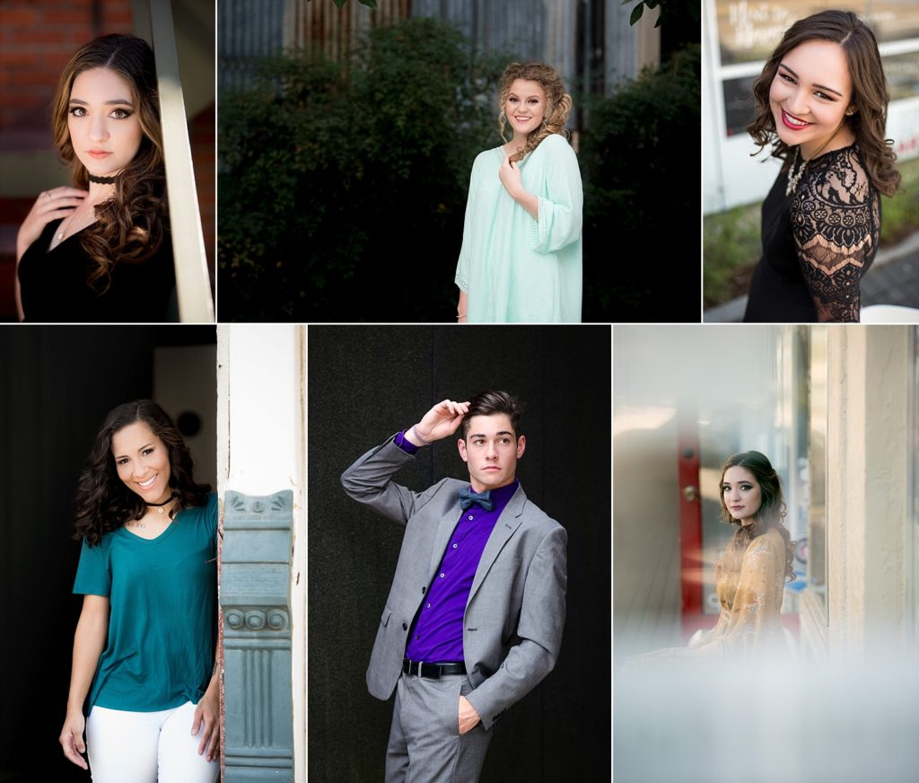 Downtown Lafayette Senior Sessions