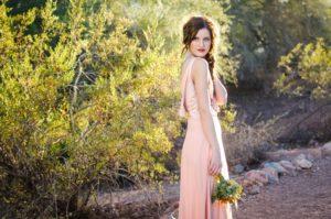 Desert Rose. A Stunning Shoot at Sunset