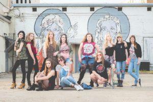 Urban grunge shoot for the model team!