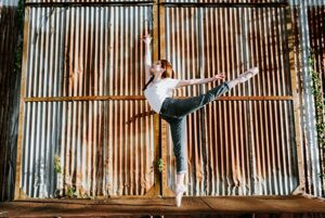 Personality + Ballet shoes = Session Stunner